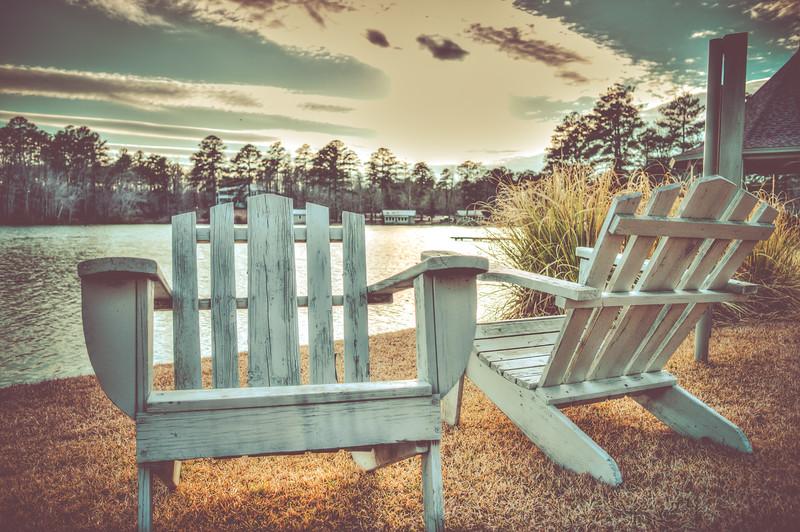 Lawn Chairs at Lake Tiak-O'Khata - Louisville