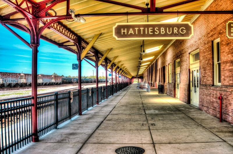 Hattiesburg Train Station