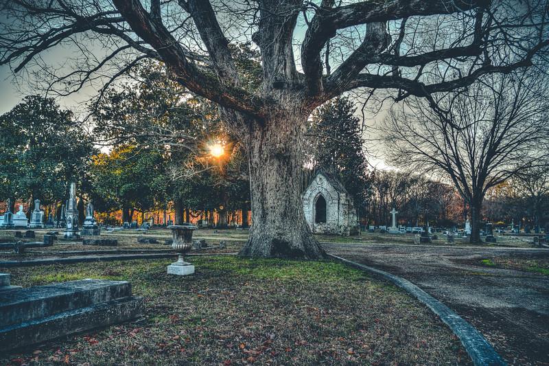 Cemetery Sunburst