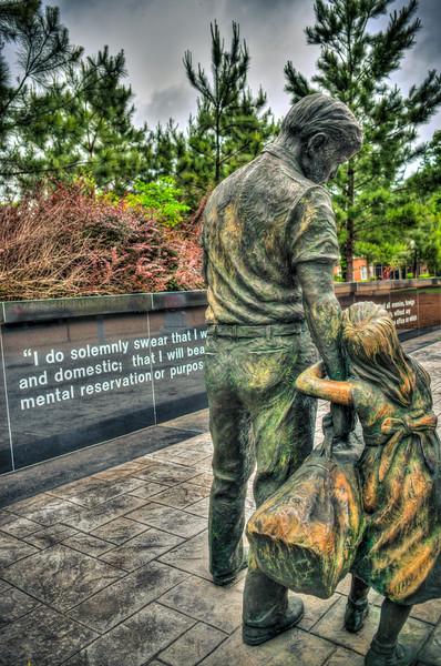Memorial Statue - Jackson