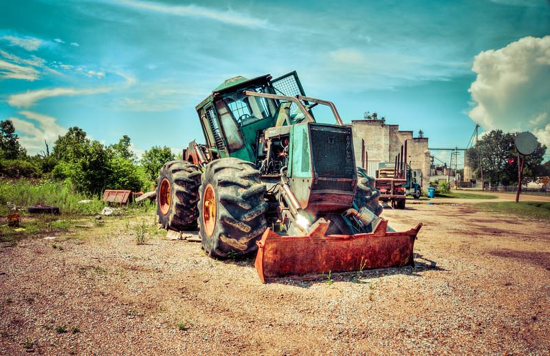 Broken Tractor - Macon