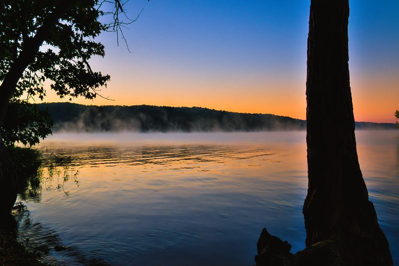 Morning Mist - Pickwick Lake