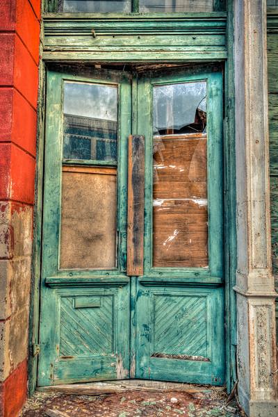 Broken Door - Meridian