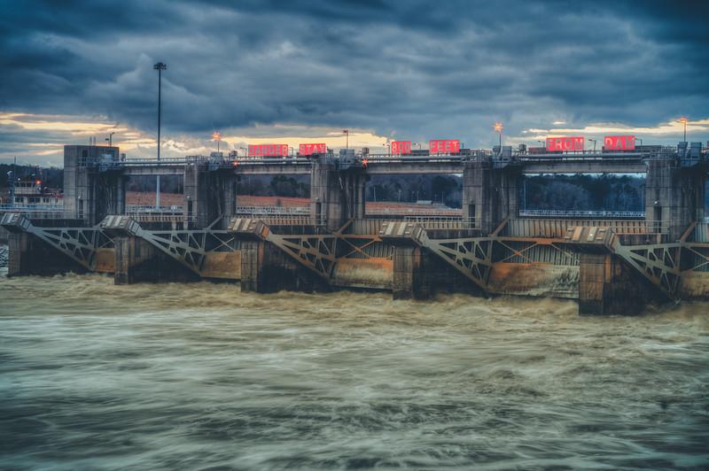 Flowing Dam