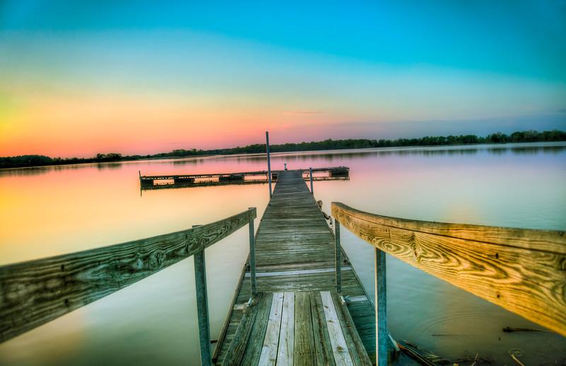 Colorful Sunset - Columbus