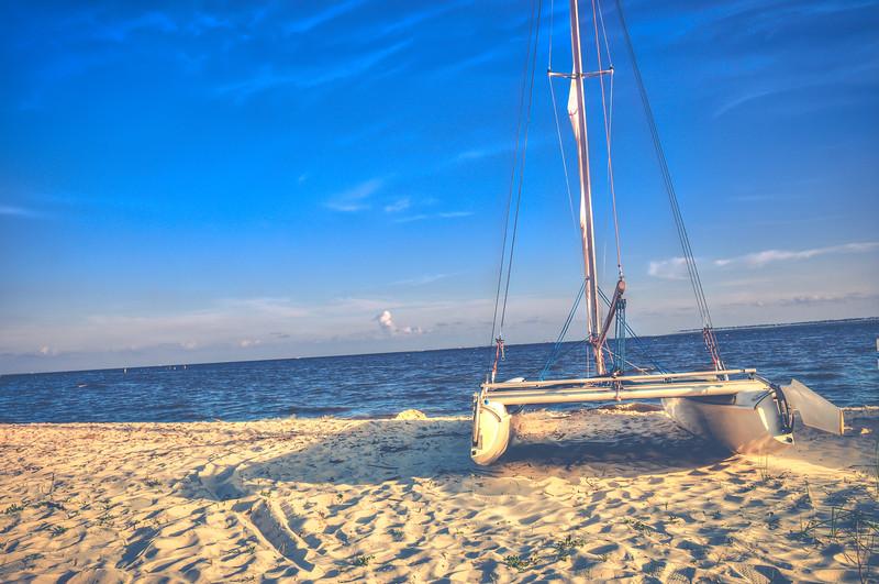 Beached Sail - Ocean Springs