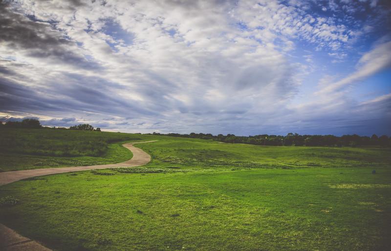 Path Into the Horizon - Columbus