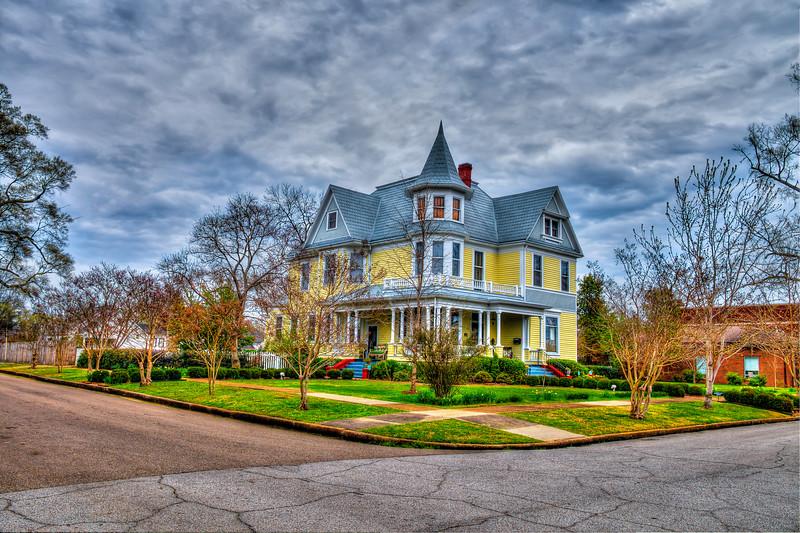 Yellow House on the Corner - Aberdeen